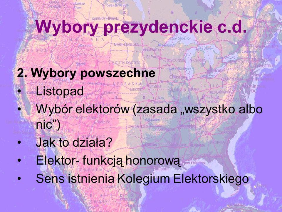 Wybory prezydenckie c.d.2.