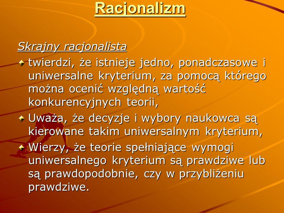 Kuhn - relatywista amerykański badacz nauki, twórca pojęcia paradygmatu naukowego nauki paradygmatu nauki paradygmatu (ur.