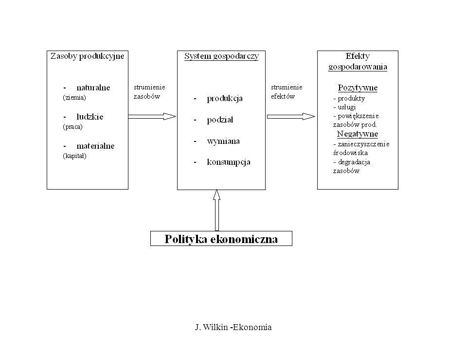 J. Wilkin -Ekonomia