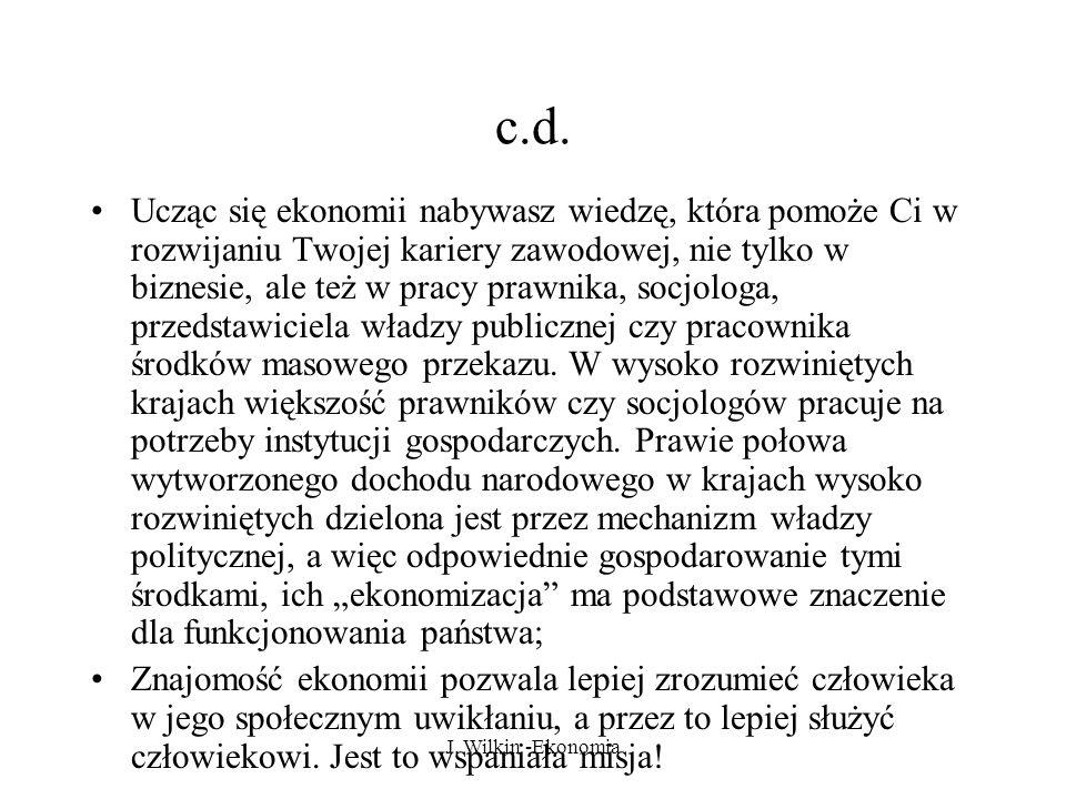 J.Wilkin -Ekonomia c.d.