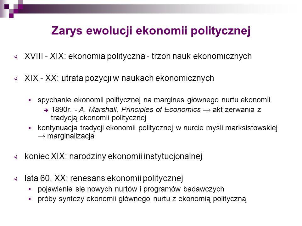 Międzynarodowa ekonomia polityczna przedmiot zainteresowania próba wyjaśnienia wielu zjawisk towarzyszących wzrostowi gospodarczemu, np.