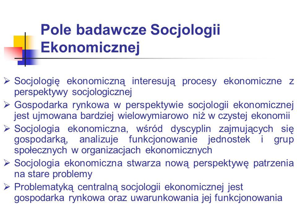 Różnice teoretyczno-analityczne pomiędzy socjologią a ekonomią Definicji aktora – dla socjologów aktor znajduje się pod wpływem innych aktorów, gdyż jest on elementem całego społeczeństwa; dla ekonomistów aktor jest jednostką, nie jest zależny od nikogo.