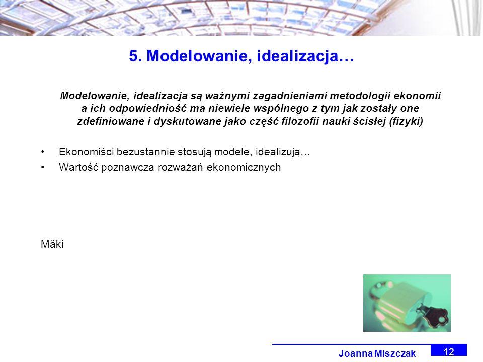 Joanna Miszczak 12 5.