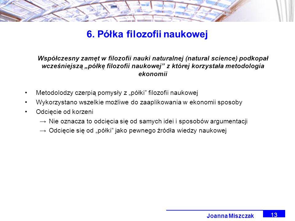 Joanna Miszczak 13 6.