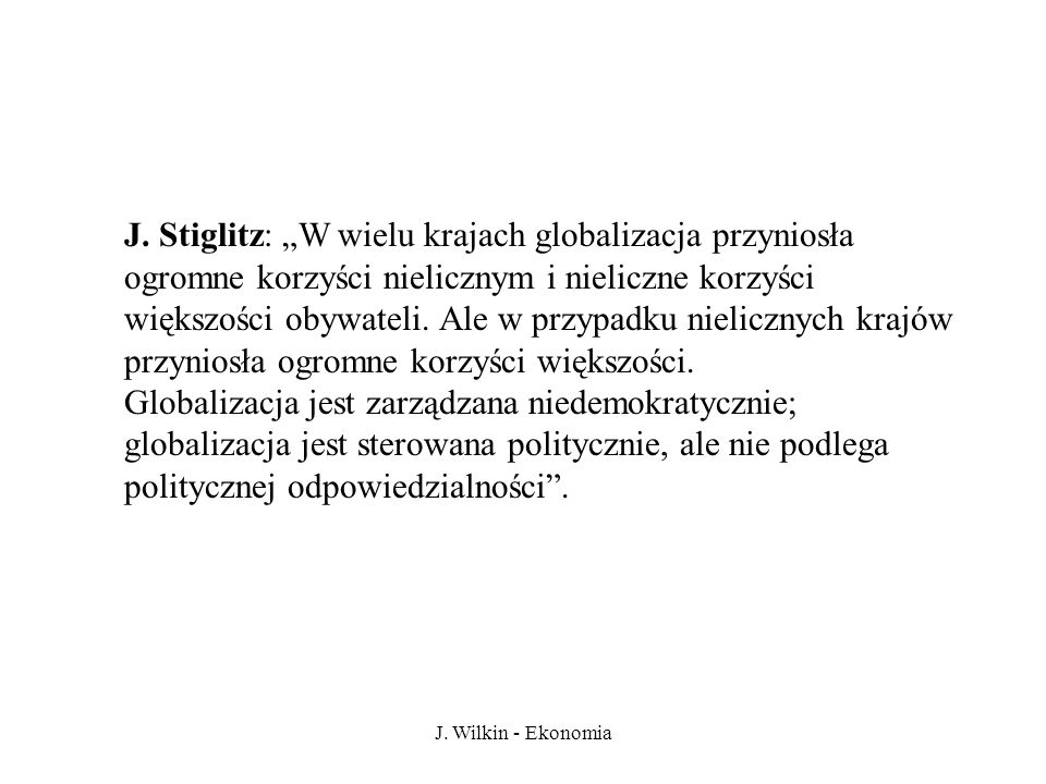 J.Wilkin - Ekonomia J.