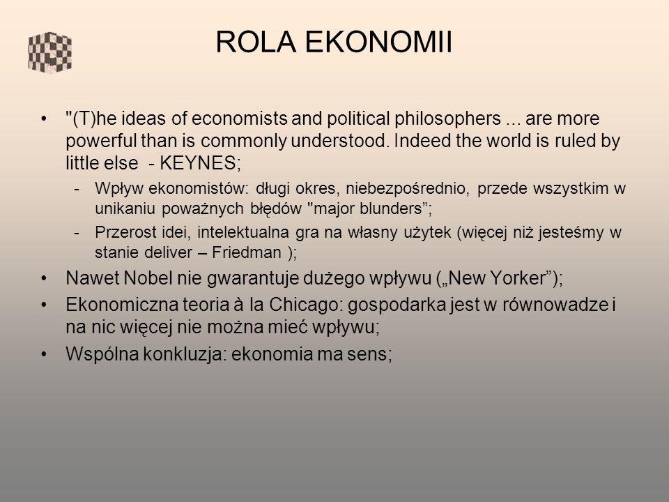 ROLA EKONOMII