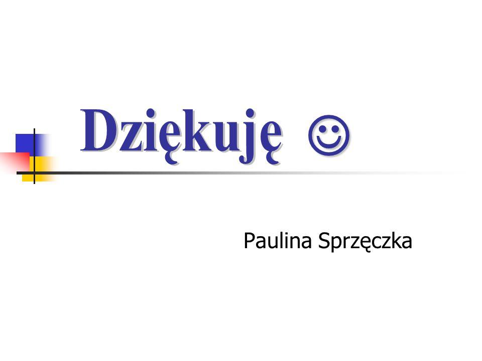 Paulina Sprzęczka