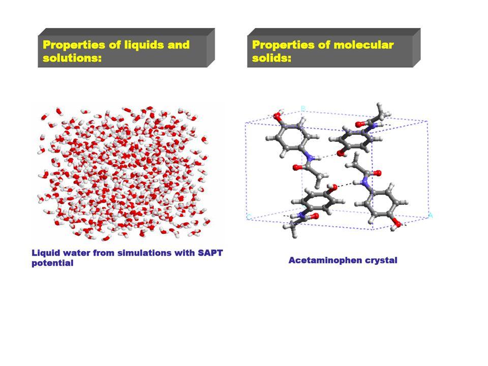 Efekt rozpuszczalnika Chemia w fazie gazowej jest różna od tej w rozpuszczalniku Przyklad: Fotodysocjacja I 2 in the gas phase in a solvent Produkty odlatują Produkty odbijają się od rozpuszczalnika - wyższy procent rekombinacji