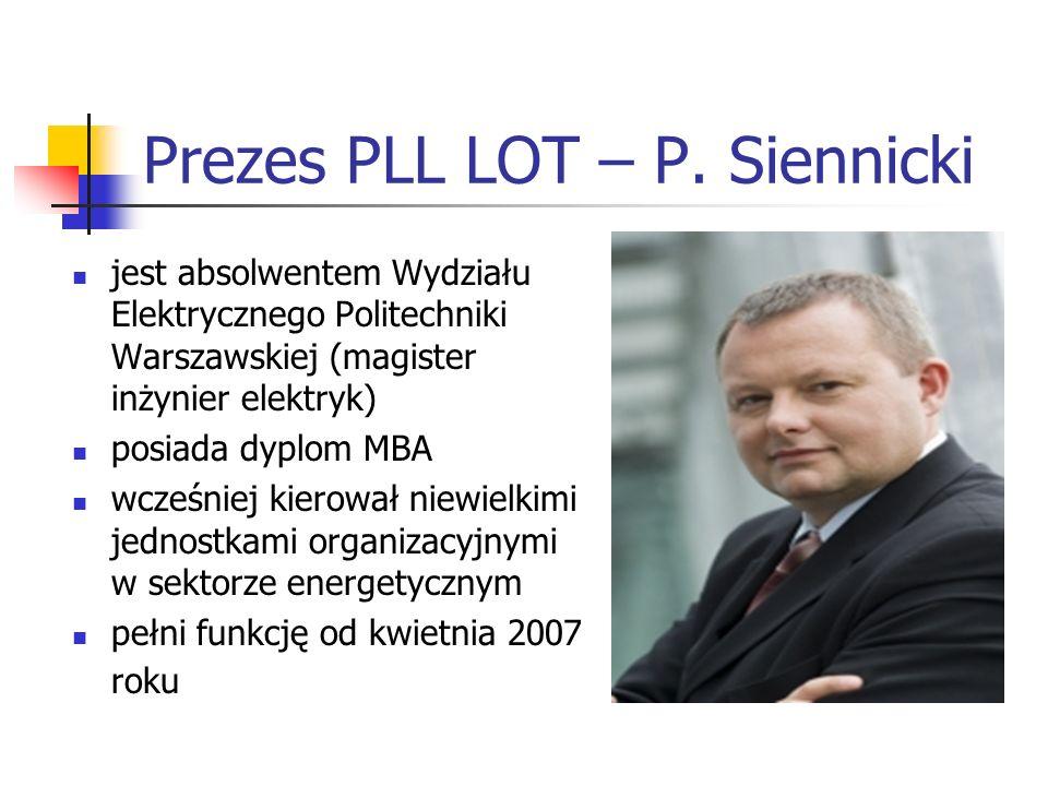 Prezes PLL LOT – P.