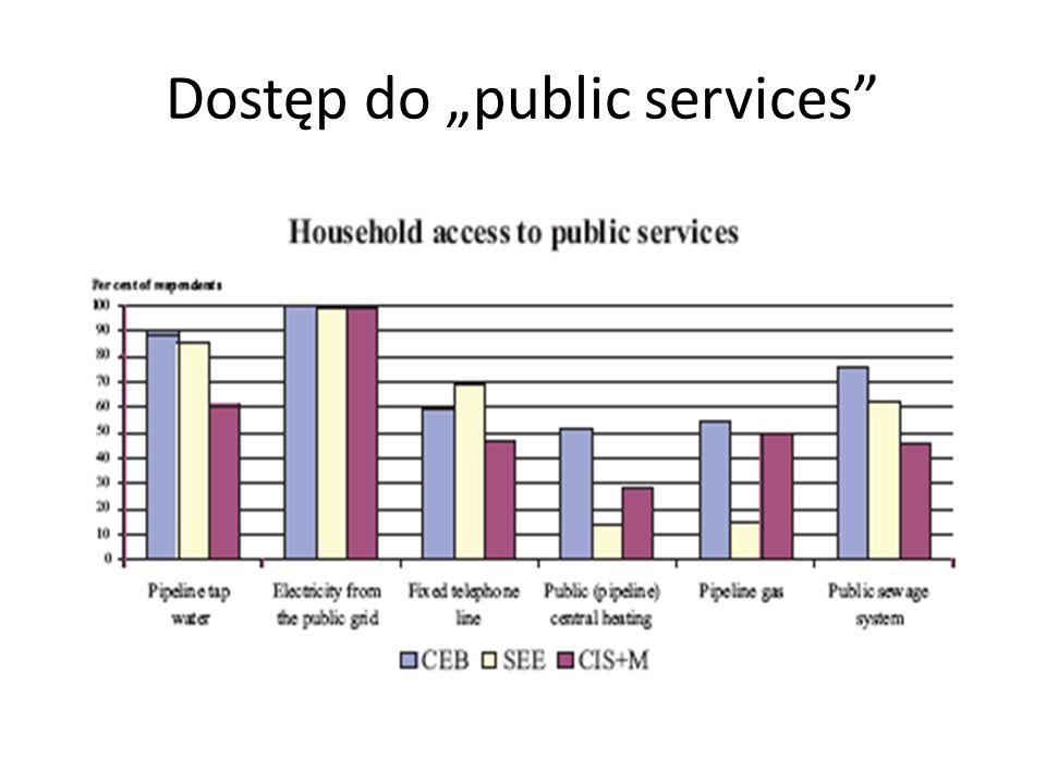 Dostęp do public services