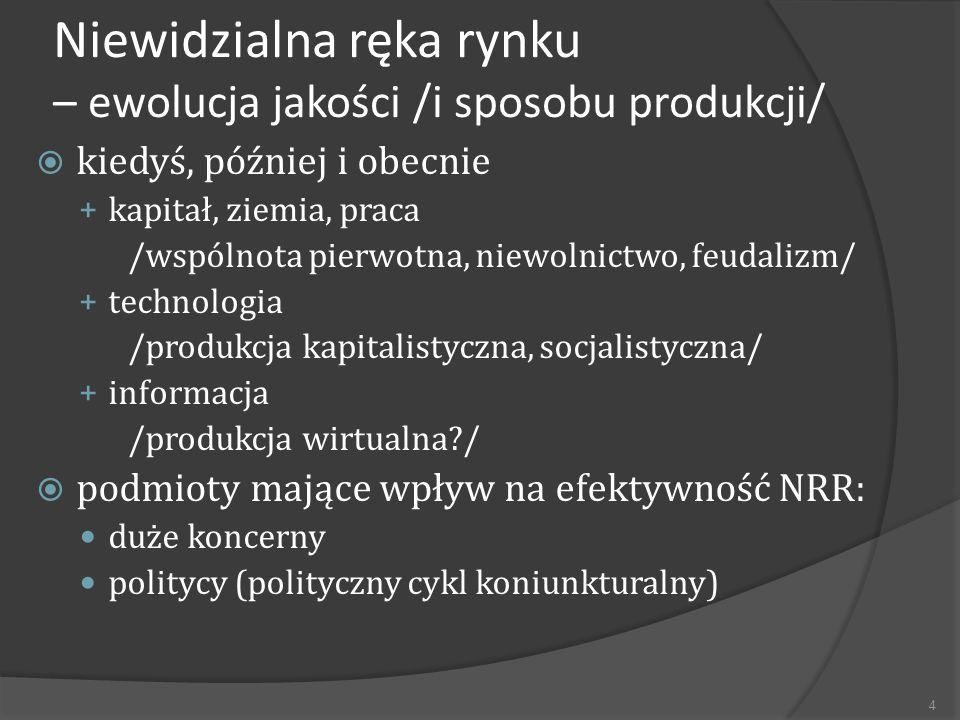 Ekonomia polityczna - nocny stróż NRR 1.