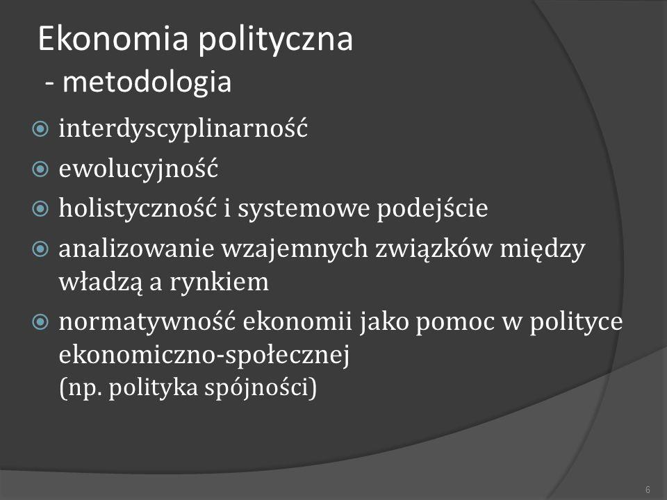 Główne nurty ekonomii politycznej: Klasyczny (XVII-XIX) /Smith, D.