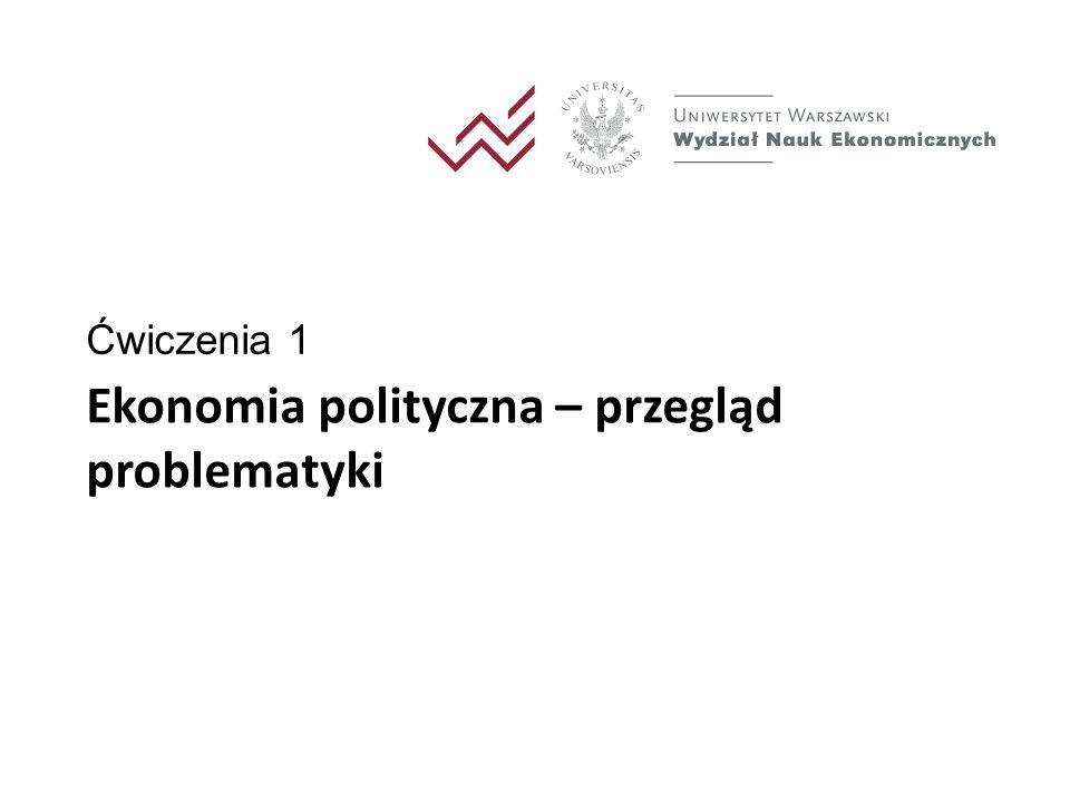 Ekonomia polityczna wzrostu i rozwoju gospodarczego 2