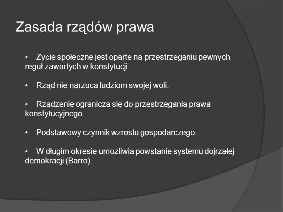 Instytucje nieformalne Teza: Podczas gdy reguły formalne mogą być zmieniane z dnia na dzień, normy nieformalne mogą zmieniać się jedynie stopniowo.
