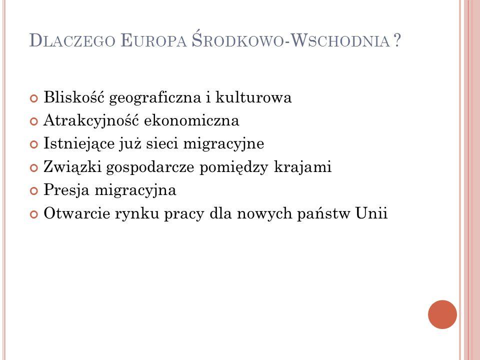 D LACZEGO E UROPA Ś RODKOWO -W SCHODNIA .