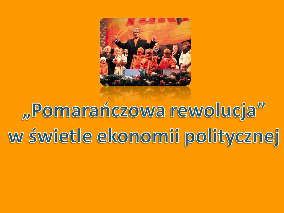 Źródło: M.Kowalski, J.Malicki Błękit pomarańczy, czyli raport o podzielonym narodzie.