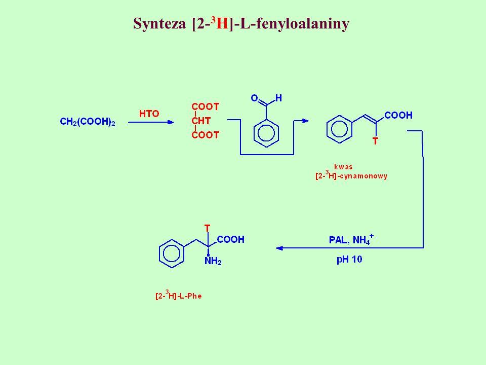 Synteza [2- 3 H]-L-fenyloalaniny