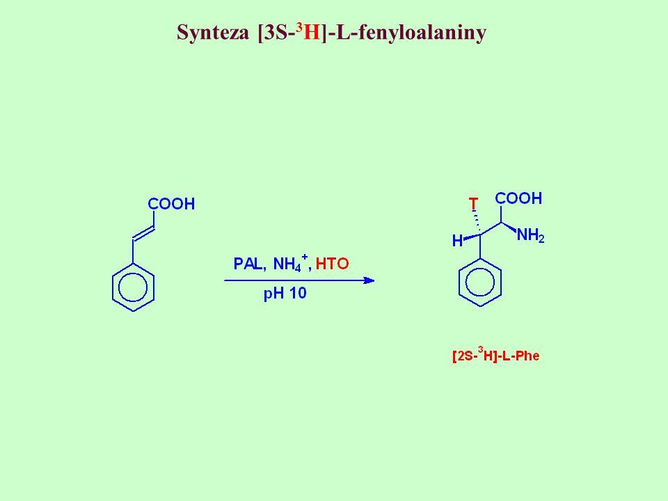 Synteza [3S- 3 H]-L-fenyloalaniny