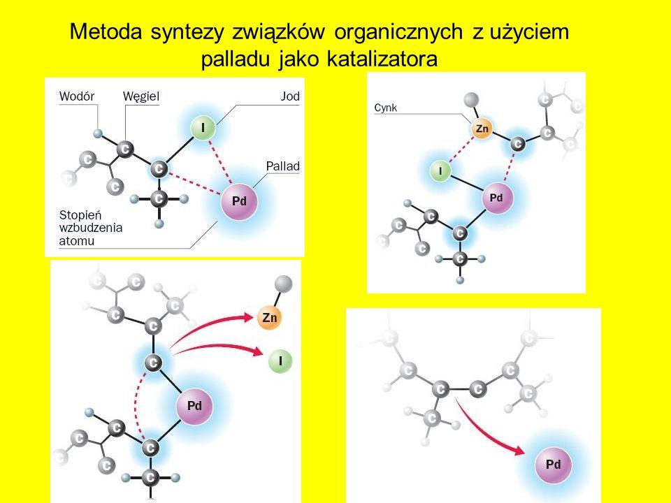 Metoda syntezy związków organicznych z użyciem palladu jako katalizatora