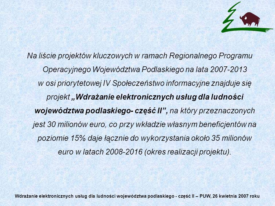 1.List intencyjny pomiędzy Urzędem Marszałkowskim, a Podlaskim Urzędem Wojewódzkim.