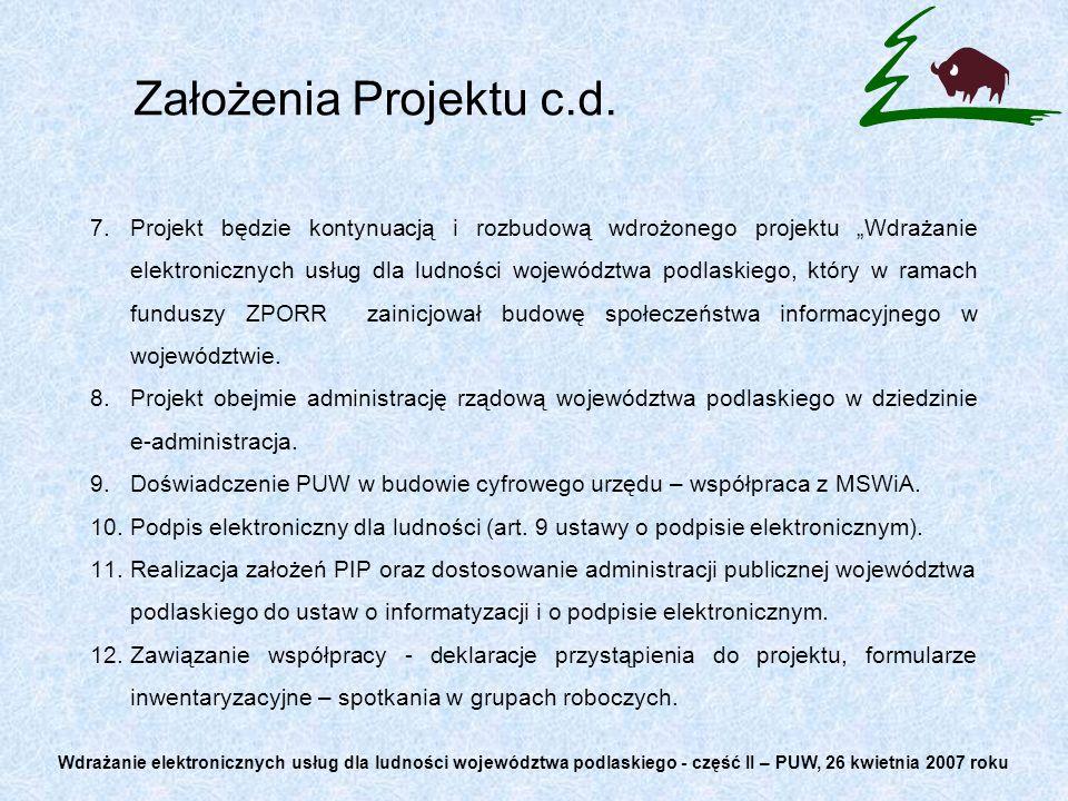 E-administracja 1.Realizacja założeń Planu Informatyzacji Państwa na rok 2006 oraz lata 2007-2010.