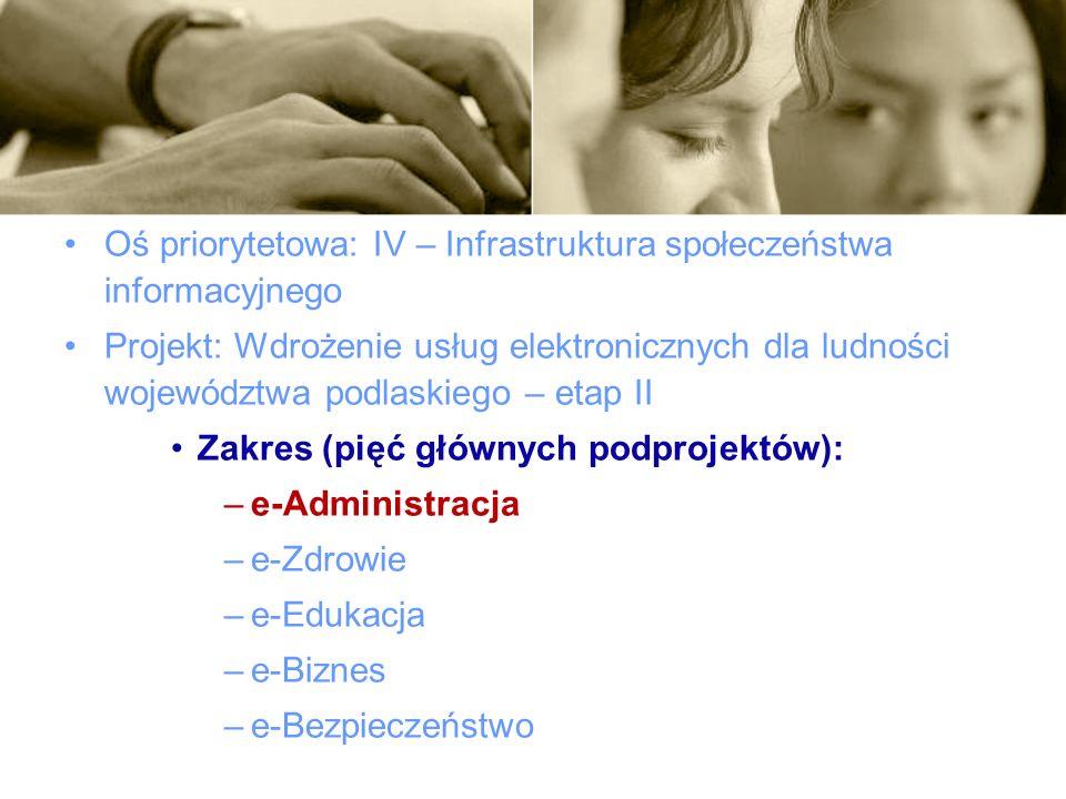 DEPARTAMENT POLITYKI REGIONALNEJ I FUNDUSZY STRUKTURALNYCH Urząd Marszałkowski Województwa Podlaskiego ul.