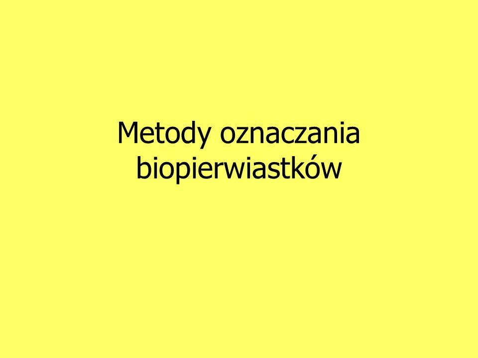 Metody oznaczania biopierwiastków