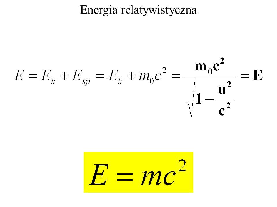 Energia relatywistyczna