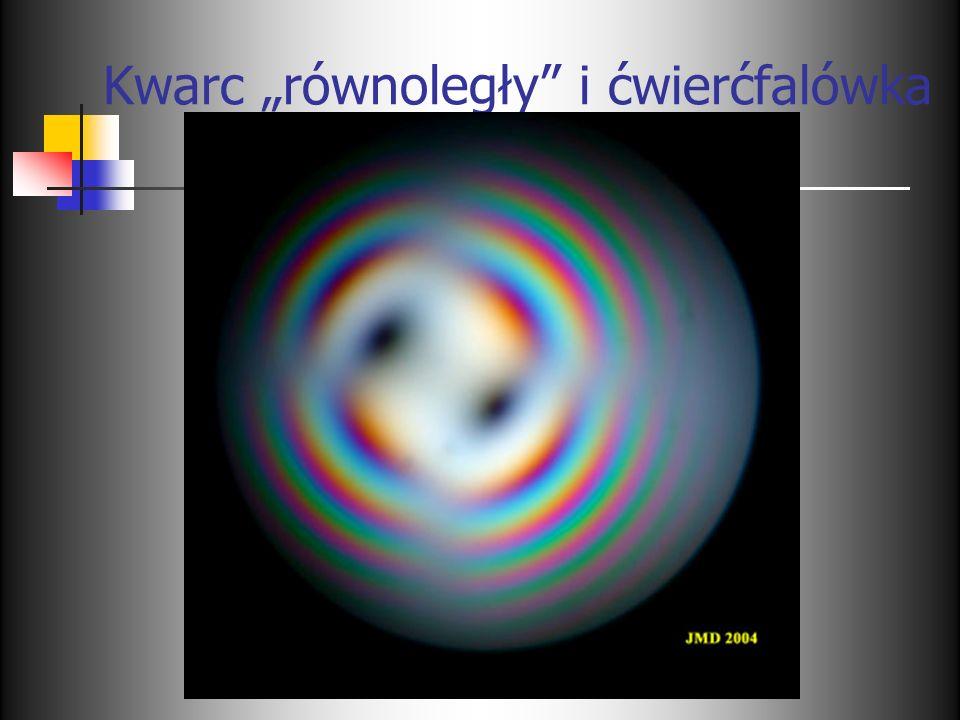 Kwarc równoległy i ćwierćfalówka