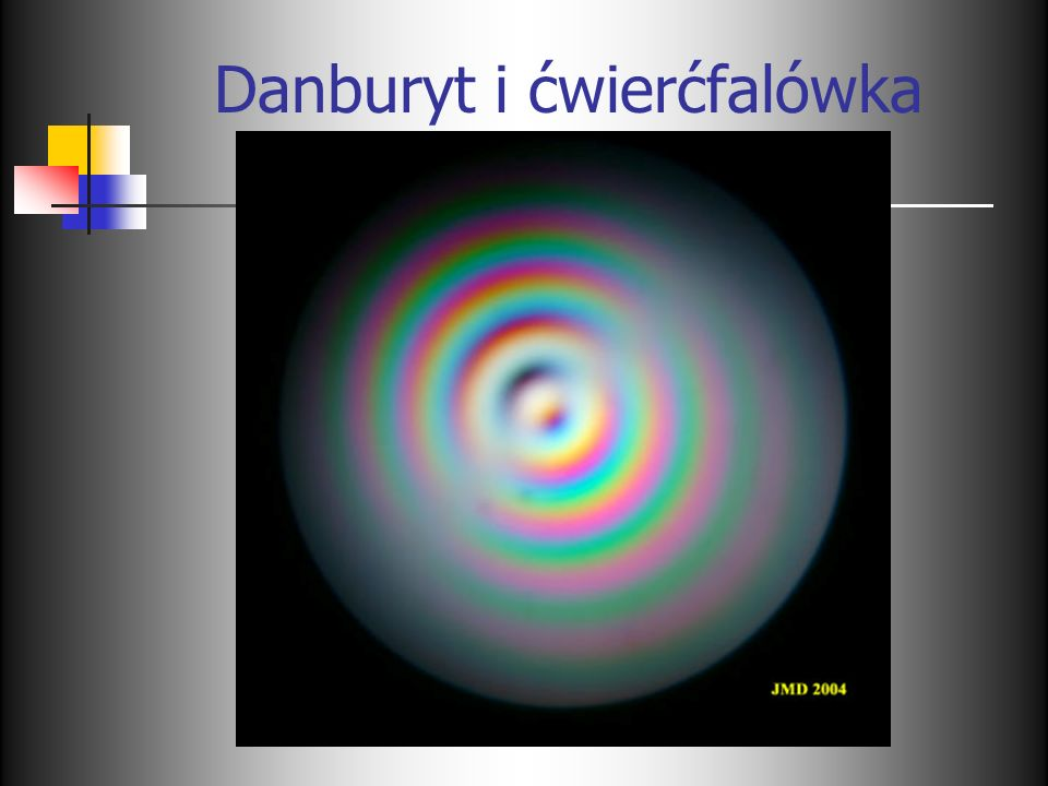 Danburyt i ćwierćfalówka