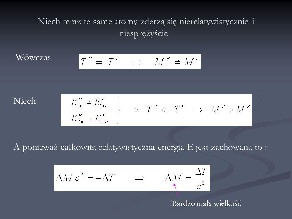 Doświadczenie Francka - Hertza W 1914 r James Franck i Gustaw Hertz przeprowadzili doświadczenie z parami rtęci : W 1914 r James Franck i Gustaw Hertz przeprowadzili doświadczenie z parami rtęci : atom rtęci 202 80 Hg E p = -10,42eVE 1 = -5,54eV Δ T Hg = - 4,88 eV W 1925 roku obaj naukowcy otrzymali nagrodę Nobla.