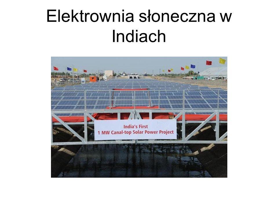 Elektrownia słoneczna w Indiach