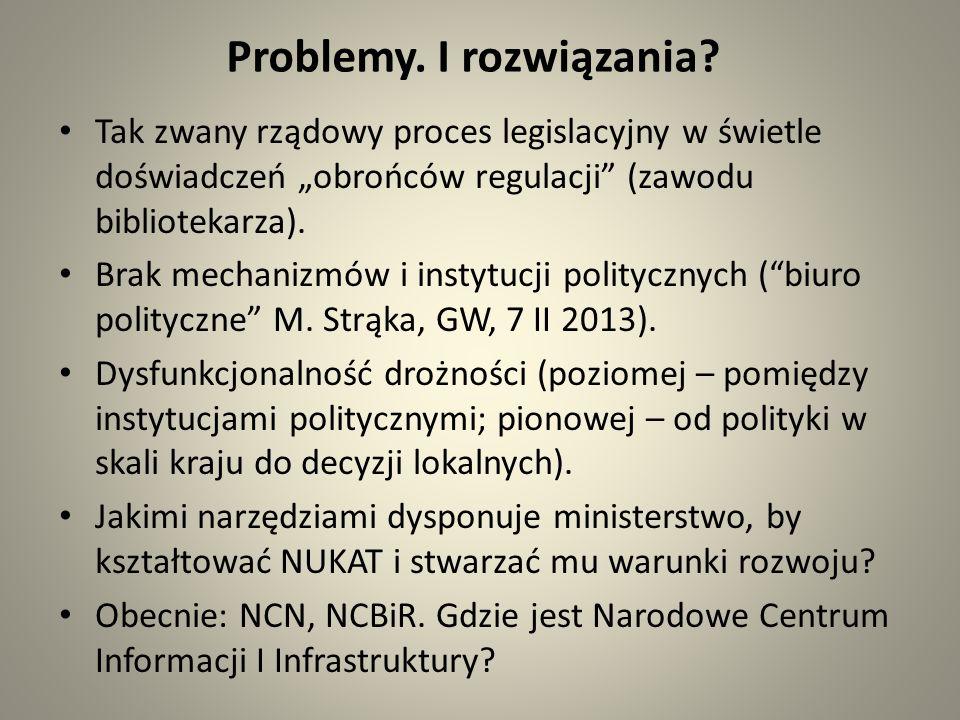 Problemy. I rozwiązania.