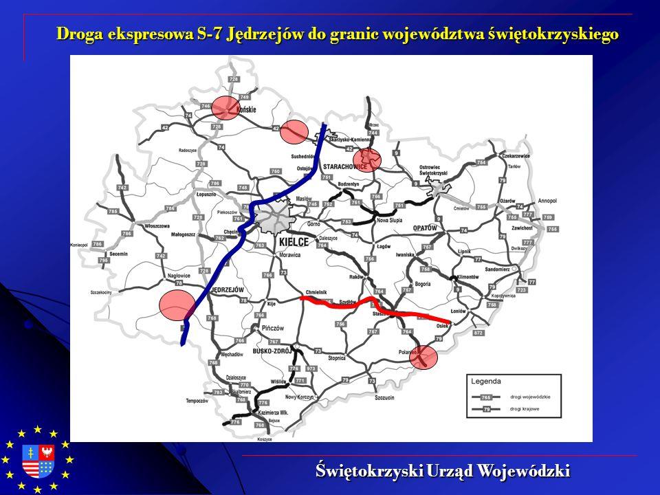 Droga ekspresowa S-7 J ę drzejów do granic województwa ś wi ę tokrzyskiego Ś wi ę tokrzyski Urz ą d Wojewódzki