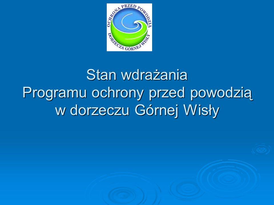Realizacja zadań w ramach programu w latach 2008-2012 Rok 2008 W ramach Programu ochrony przed powodzią w dorzeczu górnej Wisły Świętokrzyski Zarząd Melioracji i Urządzeń Wodnych w Kielcach w 2008 r.
