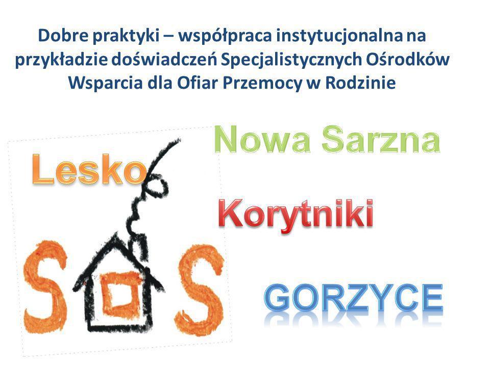 Dobre praktyki – współpraca instytucjonalna na przykładzie doświadczeń Specjalistycznych Ośrodków Wsparcia dla Ofiar Przemocy w Rodzinie