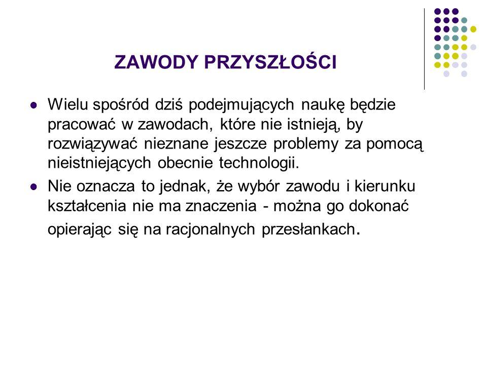 Badania i analizy, przykładowe źródła informacji Polska Agencja Rozwoju Przedsiębiorczości www.parp.gov.pl www.parp.gov.pl Agencja Manpower www.manpower.plwww.manpower.pl Sedlak & Sedlak www.rynekpracy.plwww.rynekpracy.pl Wojewódzki Urząd Pracy w Toruniu www.wup.torun.pl Ministerstwo Pracy i Polityki Społecznej www.psz.praca.gov.pl