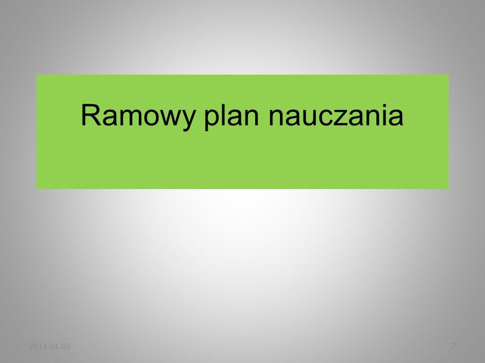 Ramowy plan nauczania 2014-01-087