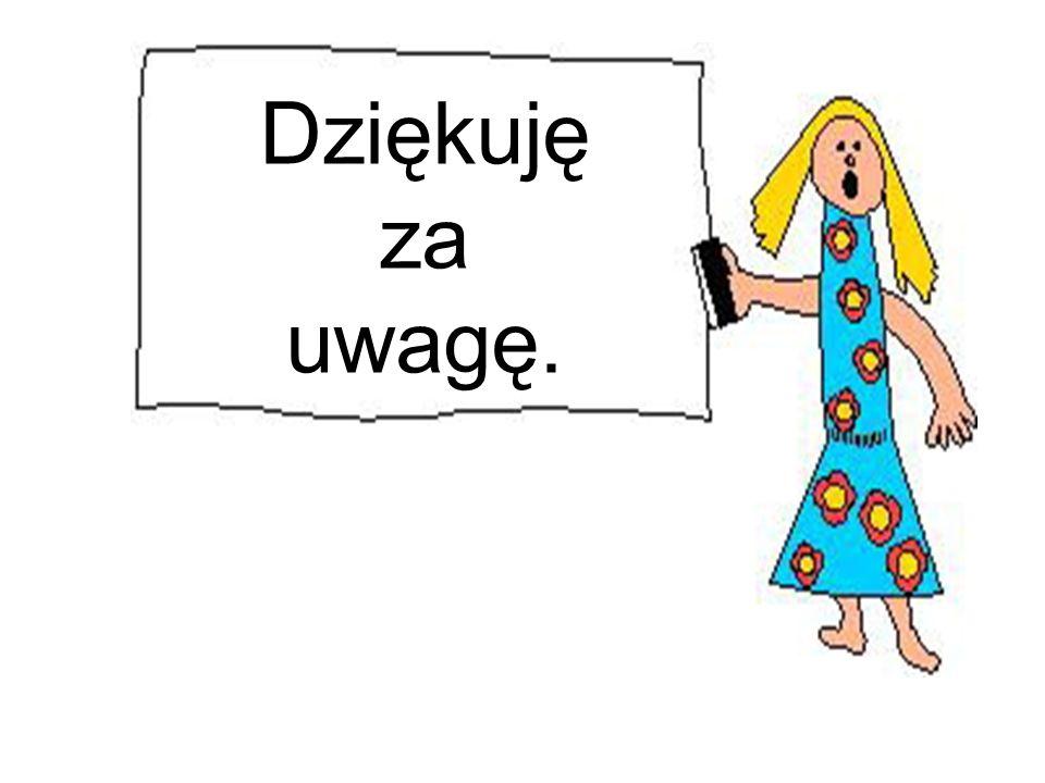 A.M. Głos Matki Polki Nauczycielki Dziękuję za uwagę.