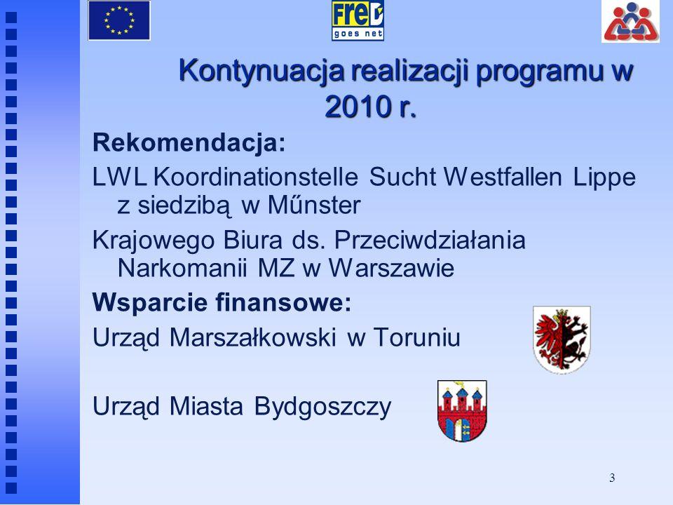 2 Ogólne informacje o projekcie FreD goes net – międzynarodowy projekt koordynowany przez Landschaftsverband Westfalen- Lippe z siedzibą w Münster (Ni