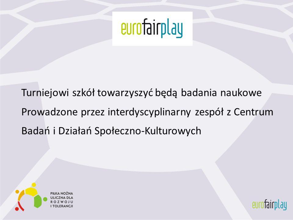 Turniejowi szkół towarzyszyć będą badania naukowe Prowadzone przez interdyscyplinarny zespół z Centrum Badań i Działań Społeczno-Kulturowych