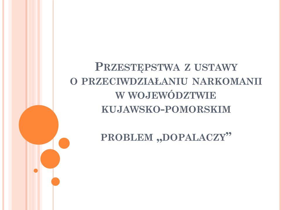 U STAWA O PRZECIWDZIAŁANIU NARKOMANII ( ART.