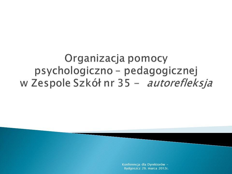 Konferencja dla Dyrektorów - Bydgoszcz 29. marca 2012r.