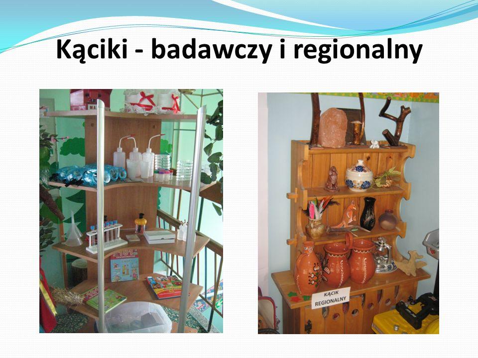 Kąciki - badawczy i regionalny