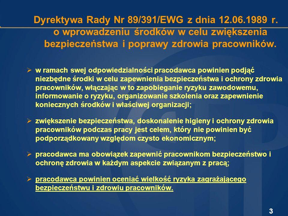 4 Kodeks pracy:1991 r.- art. 215 1996 r. - art. 226, art.