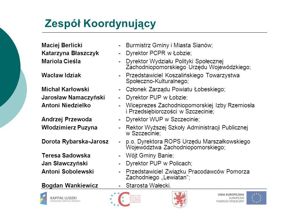 Dorota Rybarska – Jarosz Urząd Marszałkowski Województwa Zachodniopomorskiego Regionalny Ośrodek Polityki Społecznej Ul.