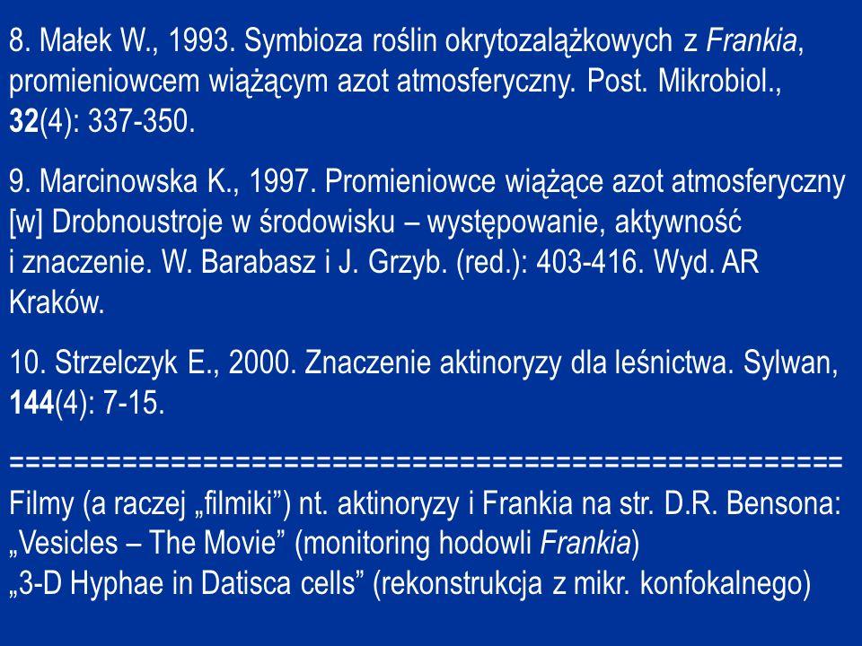 8.Małek W., 1993.