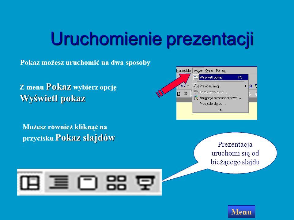 Menu Przeciągnij kursorem myszy tak jakbyś rysował prostokąt Na slajdzie pojawi się przycisk i okno dialogowe Możesz teraz ustawić rodzaj akcji, którą