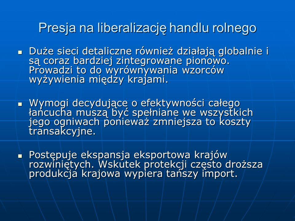 Ocena skutków dla Polski w sektorze drobiu Import do UE koncentruje się głównie na jednej linii taryfowej: CN 0207 14 10 (mrożone kawałki kurcząt bez kości).