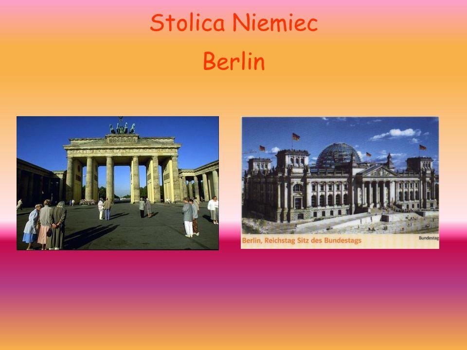 Stolica Niemiec Berlin Brama Brandenburska